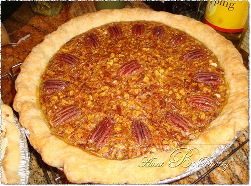 Aunt B's homebaked Pecan Pie