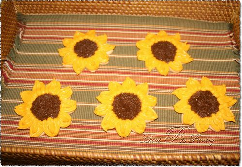 Sugar Cookies - SunFlowers