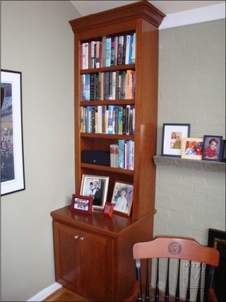 Cherry Built-Ins, Left Side