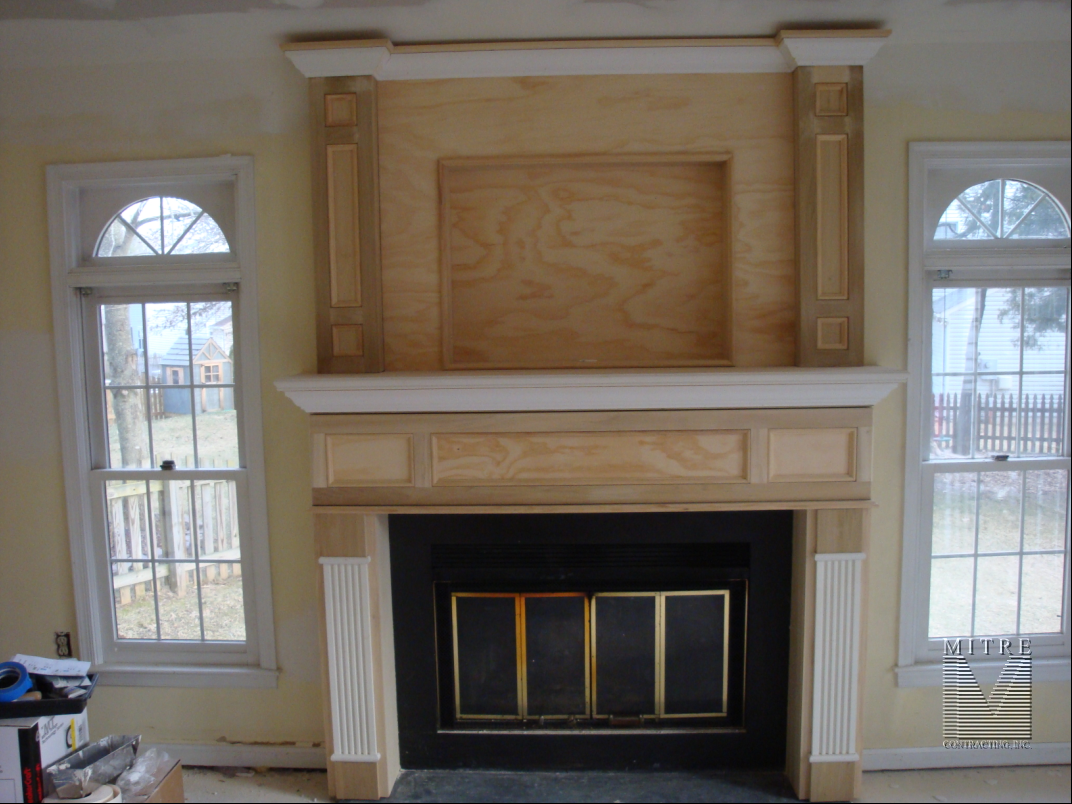 Mantel-OverMantel-Installation