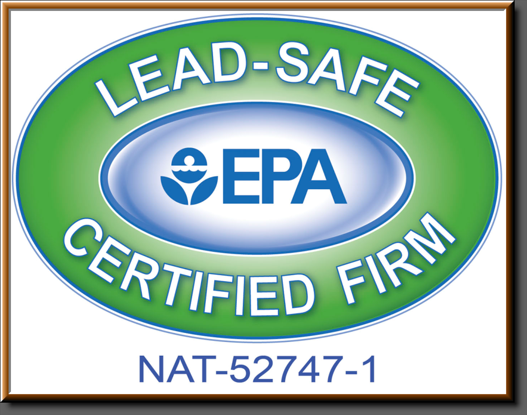 EPA Lead Safe Certified Firm Certificate