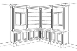 3D-Drawing-BuiltInCabinetry