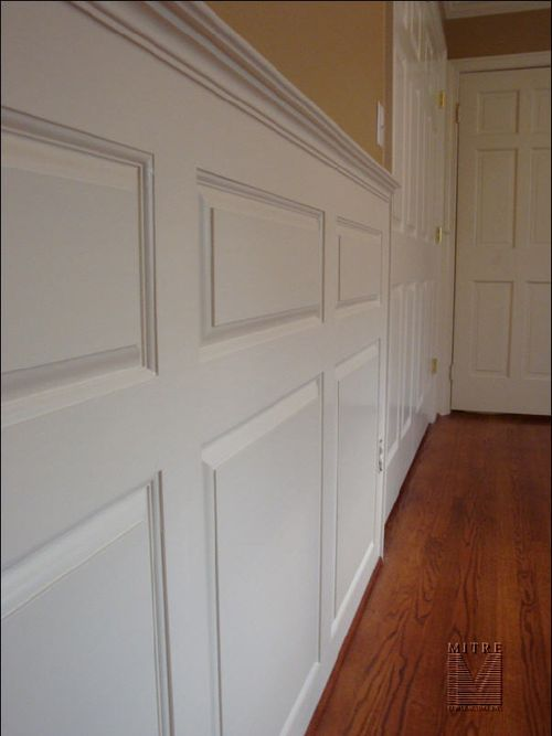 Raised Panel Wainscoting CloseUp