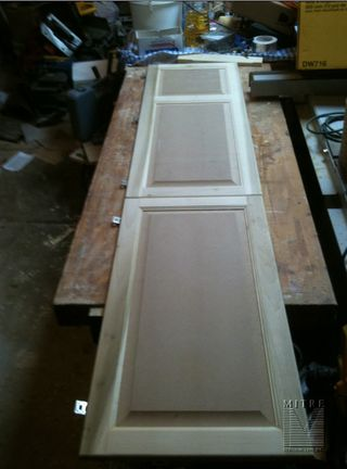 Electrical Panel Door Cover for double openings