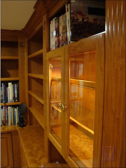 Cherry Built-In Cabinetry