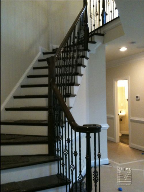 Main Section of  Wrought Iron Balustrade
