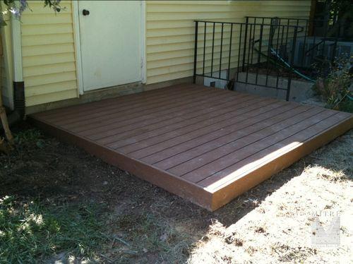 Small  8x8 Trex Deck