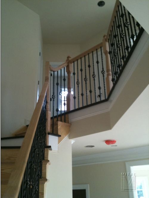 Installation of Wrought Iron Railings