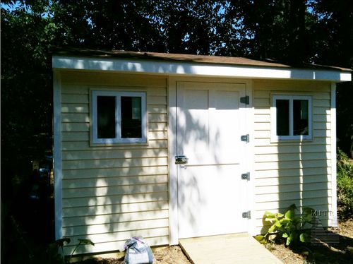 Garden Shed - Front View