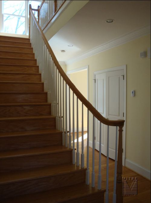 Foyer view of the main staircase