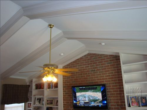 Ceiling Beams for cathedrail ceiling