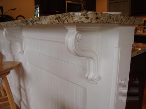 Kitchen-Corbels & Paneled Beadboard