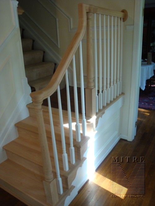 Foyer Rake Rail Conversion