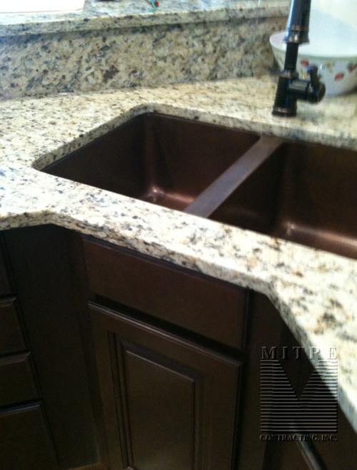 Undermount Copper Sink