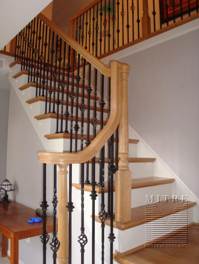 Hyland- Oak Stairs & Iron Balusters 2