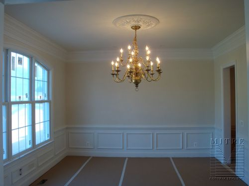 Dining Room moldings