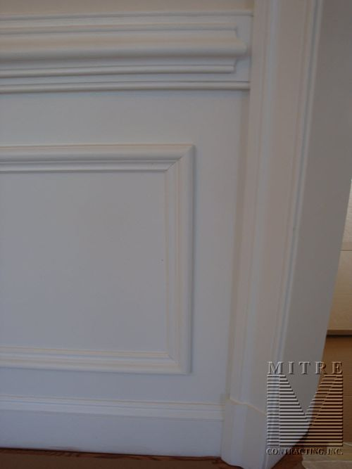 2 piece Chair Rail - Panel Moulding Shadowboxes