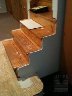stairway to be remodeled