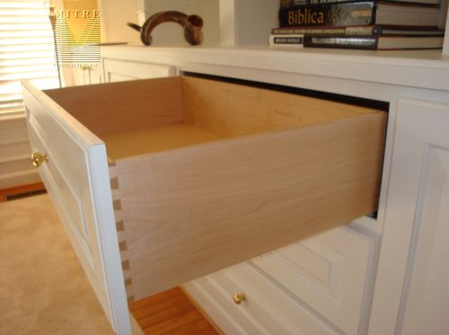 Built-In Cabinetry- Drawer with concealed Blummotion slides