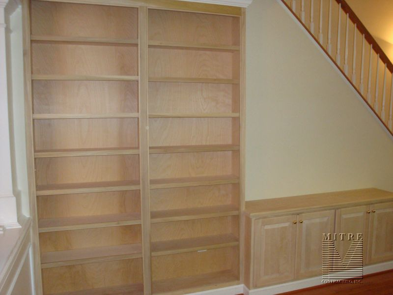 BuiltIn Bookcase with Base unit