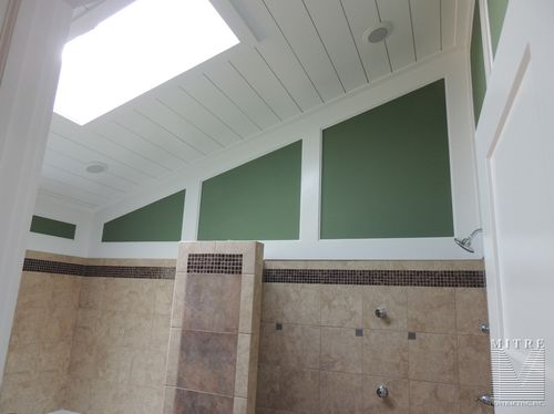 Master Bath Wall & Ceiling Treatments