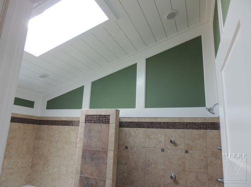 Master Bath Wall & Ceiling Treatments
