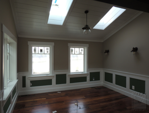 Master Bedroom Wainscoting & Ceiling  Treatment