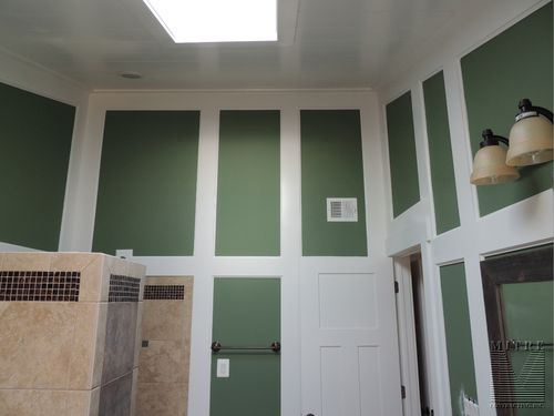 Master Bath - Wall & Ceiling Treatments