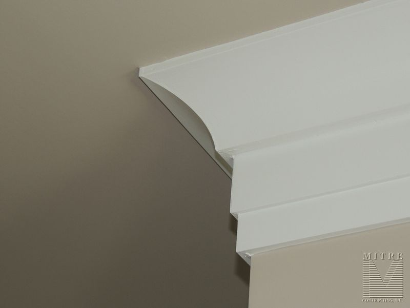 Cove Crownmoulding with backer
