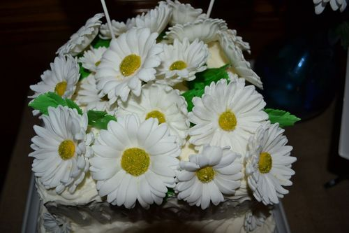 Handcrafted Sugar Flowers, Daisies