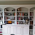 Built-In Office Cabinetry - Painted