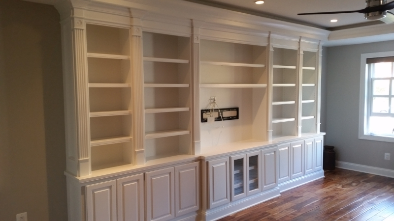 Built-In Entertainment Cabinetry