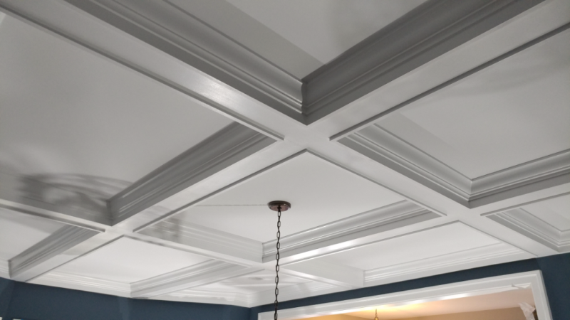 Ceiling Mouldings & Coffers - MITRE CONTRACTING, INC