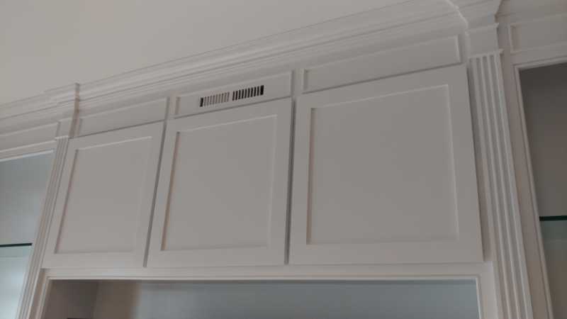 Built-In Cabinetry close up