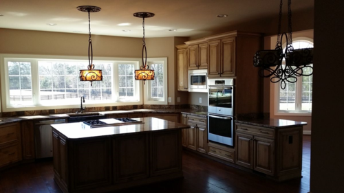 Custom Kitchen Installation by Mitre Contracting, Inc.