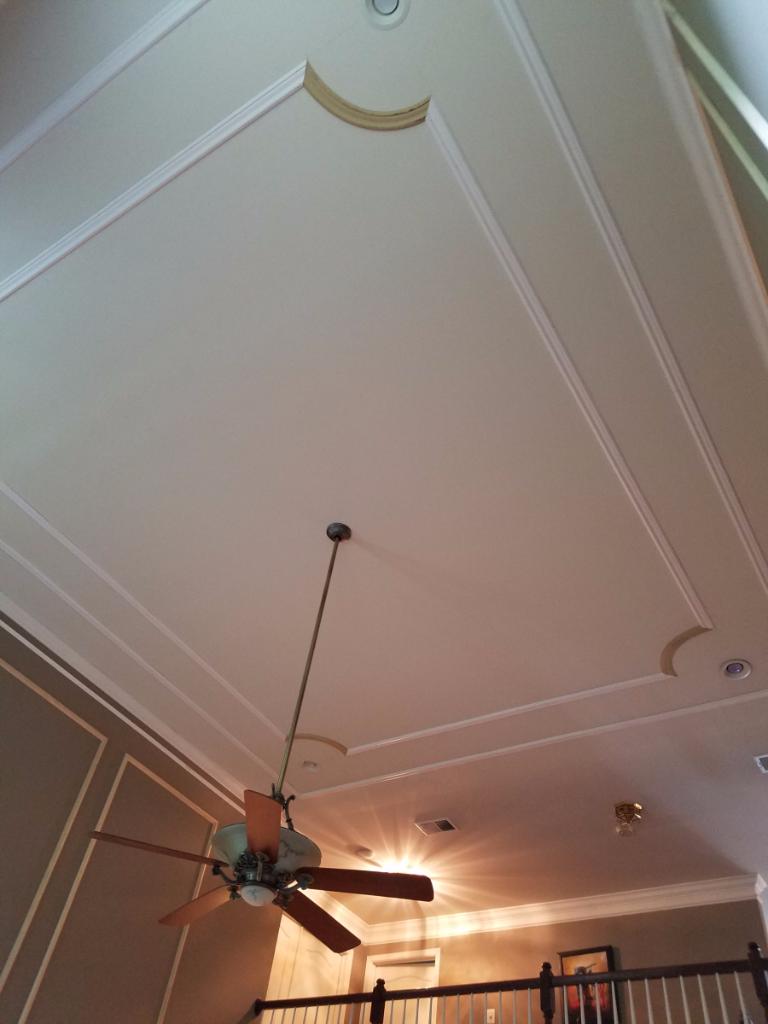 Ceiling Moulding Treatment