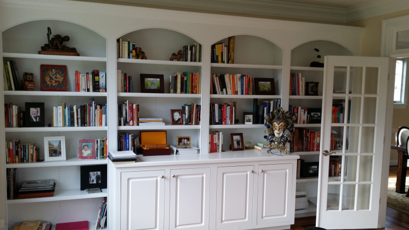 Office Built-In Cabinets
