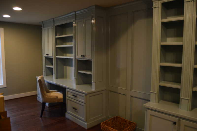 Built-In Cabinetry-Desk - Workstation Section