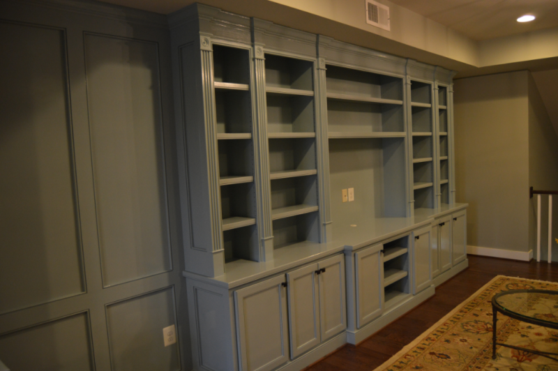 Built-In Cabinetry-Entertainment Center Section