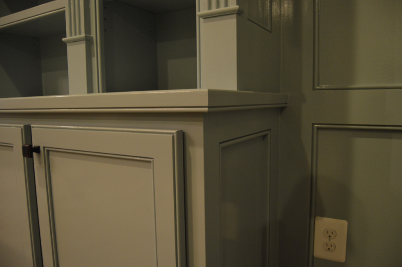 Built-In cabinetry- Detail View
