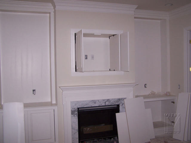 Built-In & Mantel & TV Cabinet