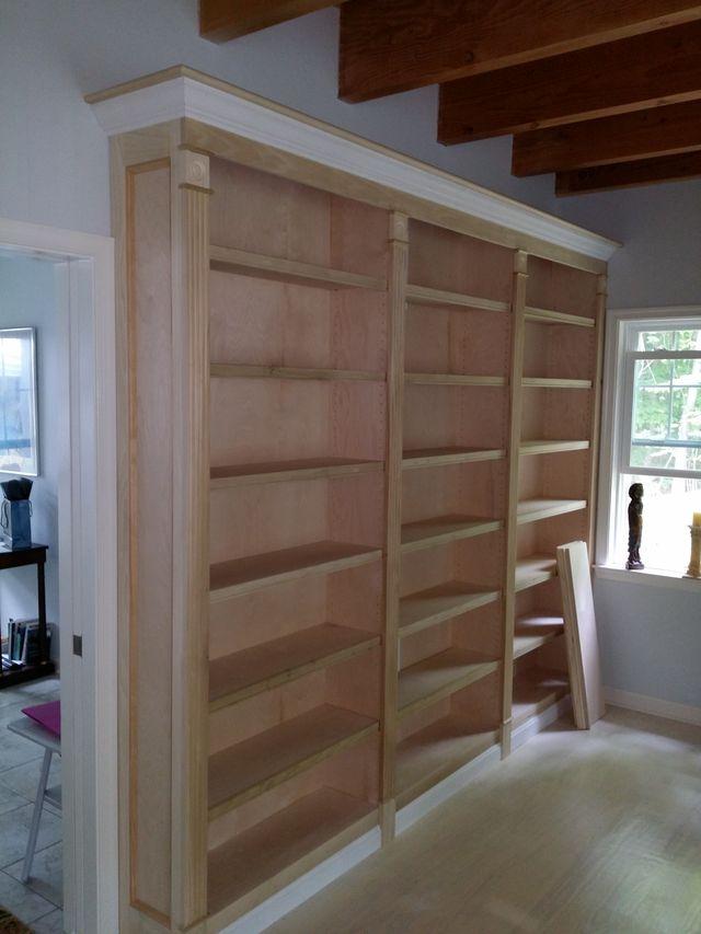 Bookcase Built-Ins