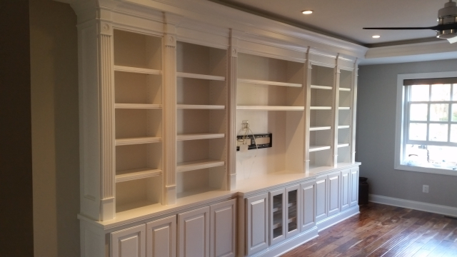 Built-in Cabinetry Entertainment Center