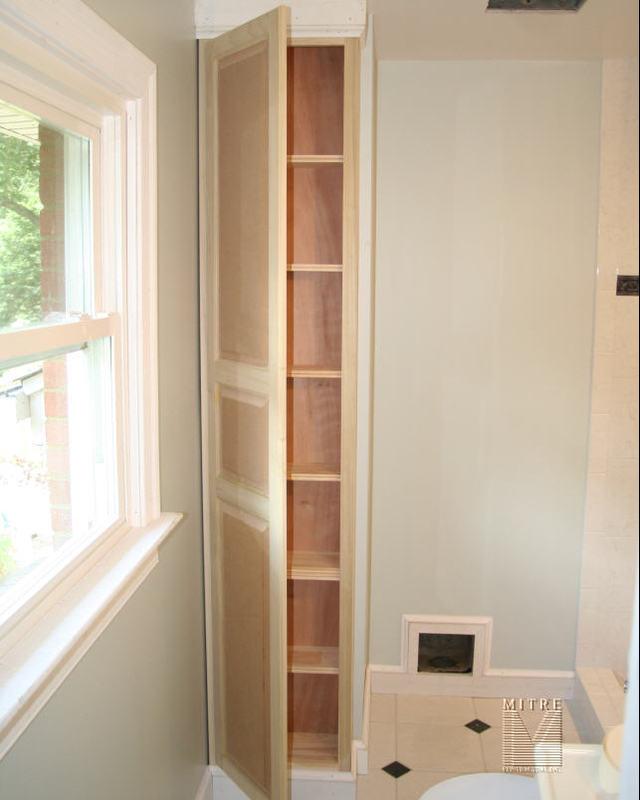 Built Ins Niche Bathroom Cabinet
