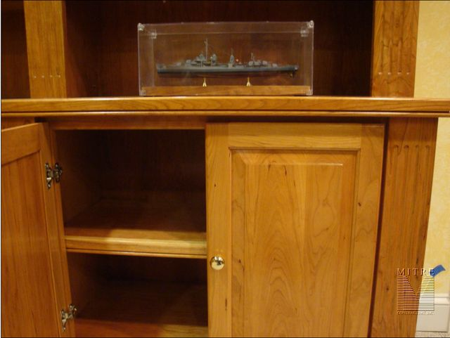 Built-In Cabinetry in Cherry- 4 of 4