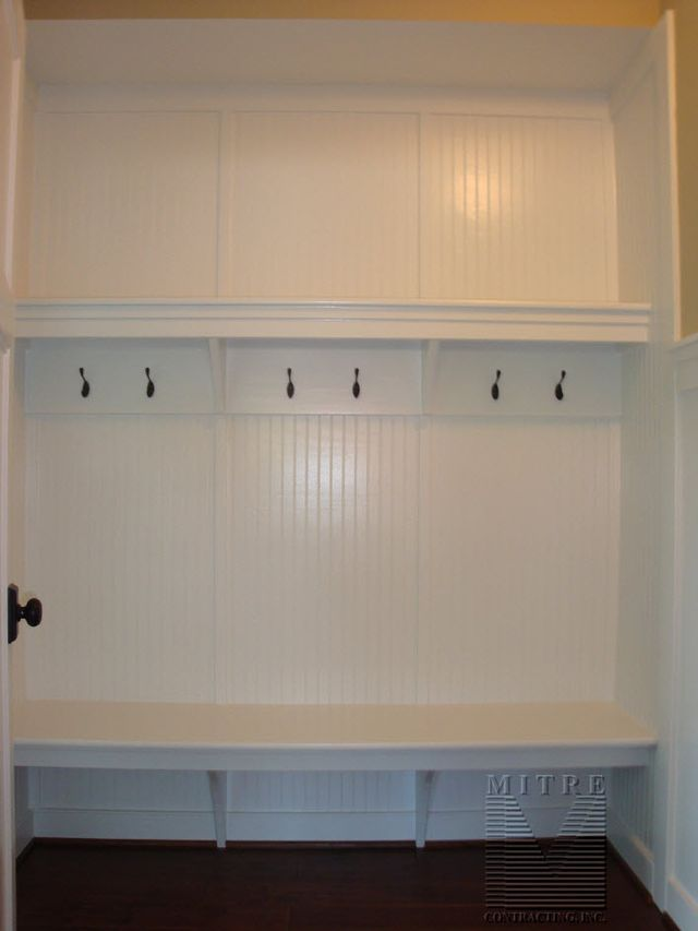 Built Ins Mud Room Bench