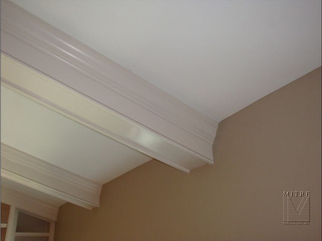 Beamed Ceiling Close Up