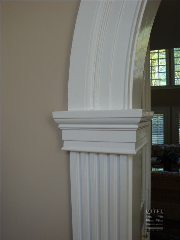 Archway Casing Detail