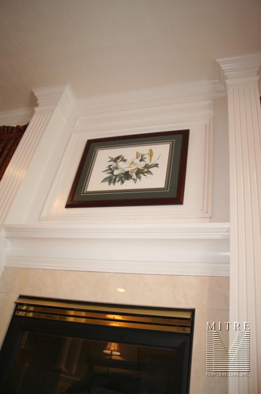 Fireplace Trimwork - View 4
