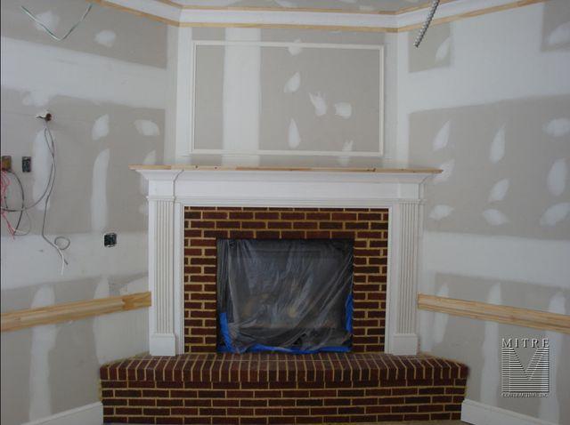 Condo Fireplace Mantel Surround